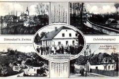 Detrichov pohlednice